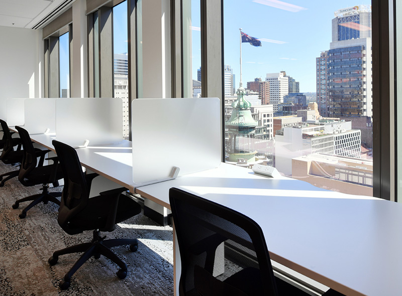 Sydney Coworking Space, Flexispace, No. 1 Martin Place, Casual Desk