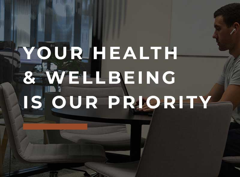 Flexispace, Your health & wellbeing is our priority